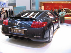 Peugeot 907 Heck