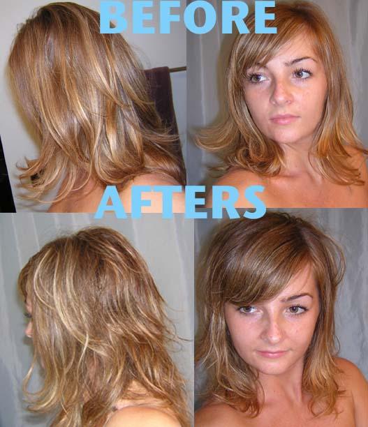 Long Hair Cut Diagram