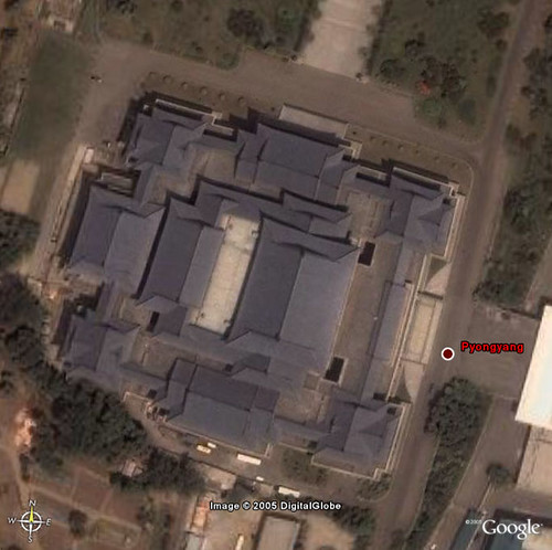 Google Earth New High-Resolution Area - Pyongyang