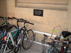 Bicycles in Westminster Palace
