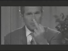 George Bush Don't Like Black People: Screencap II