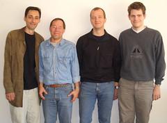 Dranov, Stenzel, Upleger und IM Seel