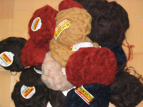 7 euros worth of mohair