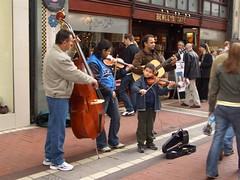 street performer I