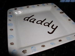 daddy plate