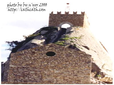 cathcath Sperlinga Battlements2000