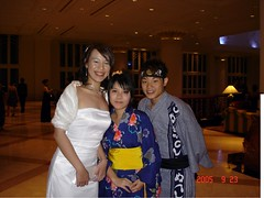 Monash Ball 2005 Flame and Frost - Me and the Jap Couple
