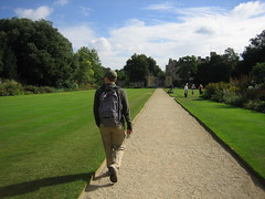 wandering the grounds of trinity college