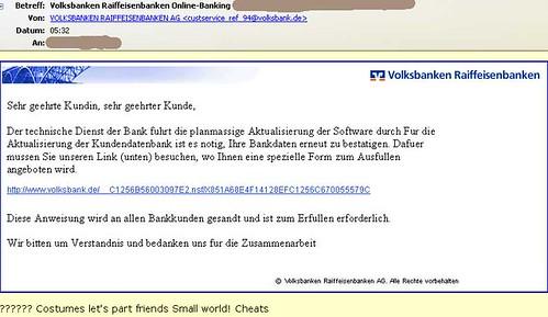 volksbank-SPAM