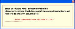 Webdeveloper Problem