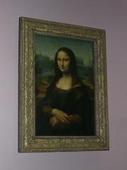 Potret Monalisa dlm Musee du Louvre, Paris, France