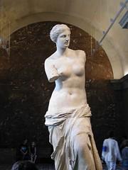 Statue Venus de Milo dlm Musee du Louvre, Paris, France