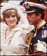 Perkahwinan Prince Charles & Princess Diana di St Paul's Cathedral, London, UK
