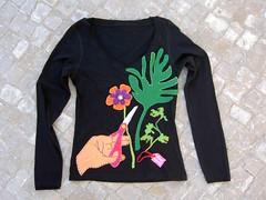 T-shirt florista