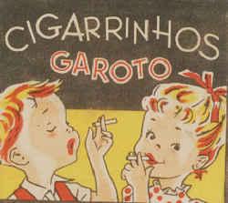 Chocolate Cigarrettes