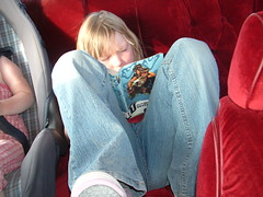 Amanda reading