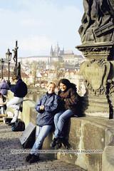 Castelo de Praga ao fundo