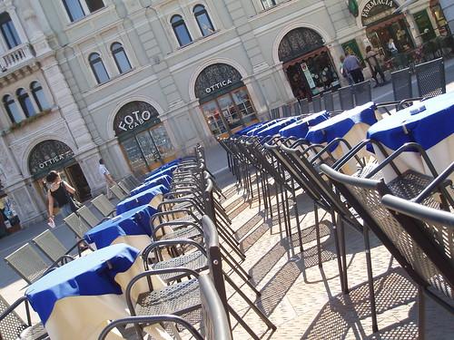 Audace Cafe, Piazza di Unita d'Italia, Trieste, Italy