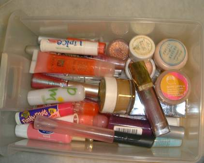 Lip Gloss and lip balms