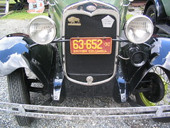 Close-up of One of the Model A's