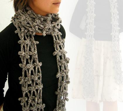 clover scarf