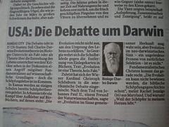 MOPO - USA: Die Debatte um Darwin