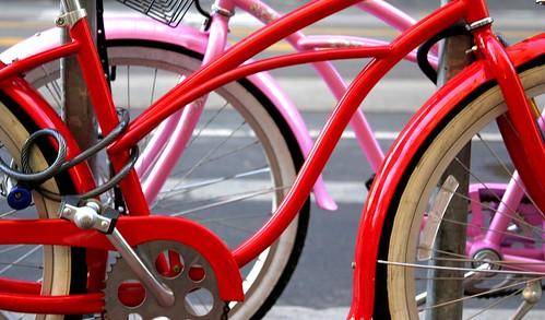 Red Bike, Pink Bike