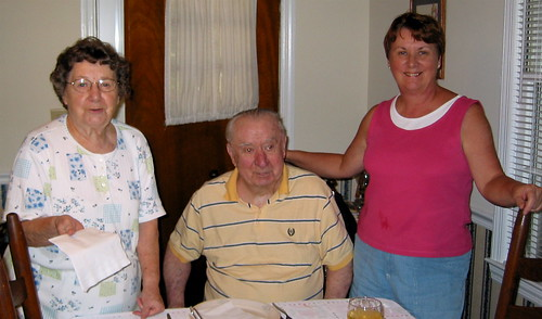 Nancy, Jim and Lorraine
