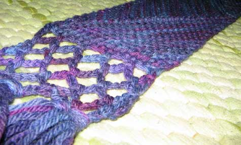 MD scarf edging