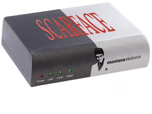 scarface router