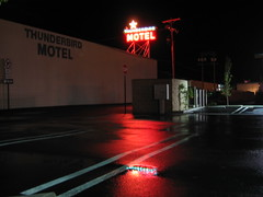 Thunderbird Motel, Bishop, CA