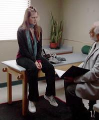 Amy visiting Dr.Sharma