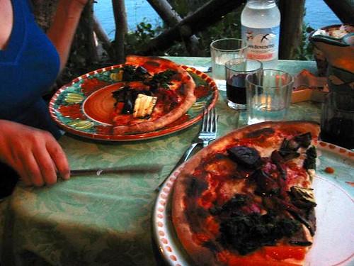 Pizza at 'O Guarracino