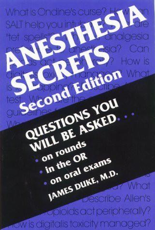 Pdf barash anesthesia