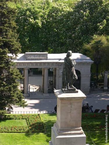 El Botánico desde el Prado