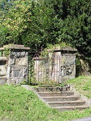 Goose Creek Burying Ground gates