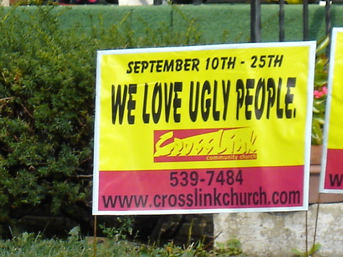 We love you right back, weirdo church people