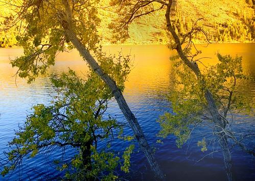 Autumn Sunset, Twin Lakes