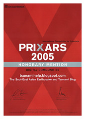 Prixars 2005 Honorary Mention