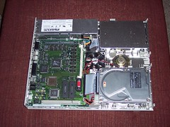 Inside of an Old Mac LC III