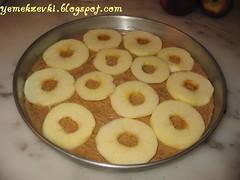delik elmalı kek