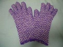 herringbone gloves (back side)