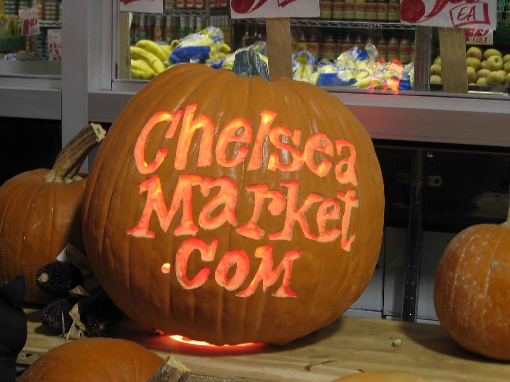 Chelsea Market pumpkin