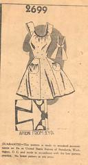 Dress-like Apron