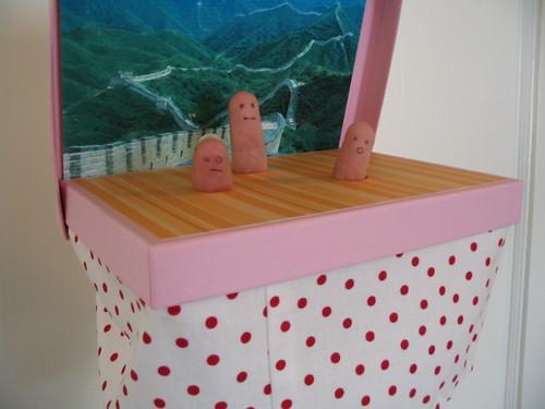 finger puppet theater