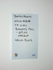 lists - bathroom