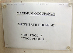 Tecopa Hot Springs Max Occupancy