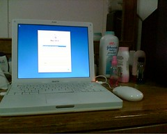 Lovely iBook G4 12.1
