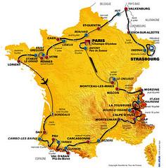 parcours du tour 2006.