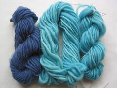 14: Handdyed wool